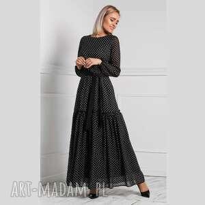 Sukienka delia maxi donata grochy średnie sukienki livia clue