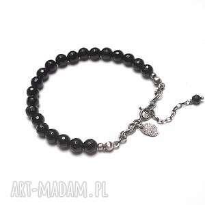 handmade black-bransoletka