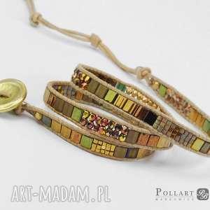 hand-made bransoletki bransoletka zawijana boho wrap chan luu
