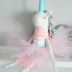 artshoplalashop duży jednorożec unicorn urodziny, jednorożec, pluszak, prezent