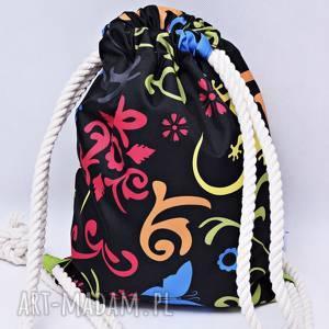 workoplecak wodoodporny, worek plecak, torba na plecy, ze sznurami