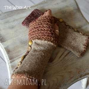rękawiczki mitenki - rękaiczki, mitenki, nadłonie, prezent
