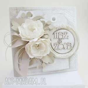 Ślubny szyk - w pudełku scrapbooking kartki marbella ślub