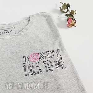t-shirt donut - ,donut,pączek,koszulka,bluzka,t-shirt,haft,