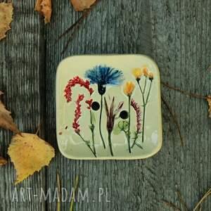 ceramika mydelniczka łąka, mydelniczka, mydło, świąteczny prezent