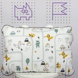 dla dziecka płaska poduszka do łóżeczka brum, poduszka, płaska, łóżeczka, auta