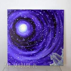 unikalny, szczęście gwiazd, 4mara, obraz, dom, sztuka, prezent, na ścianę
