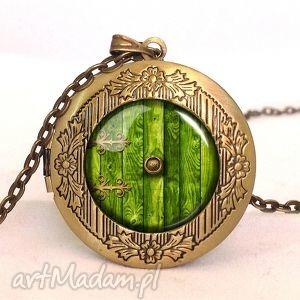 hobbicia nora - sekretnik z łańcuszkiem - hobbit, władca, pierścieni, nora