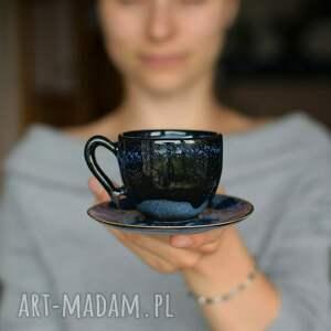 ręcznie zrobione ceramika filiżanka espresso głębia 75ml