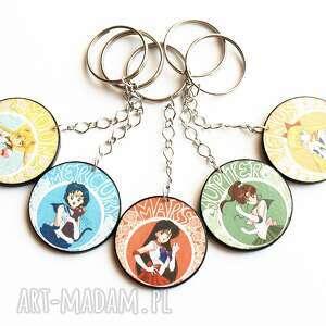 handmade breloki zestaw 5 breloków anime czarodziejka z księżyca