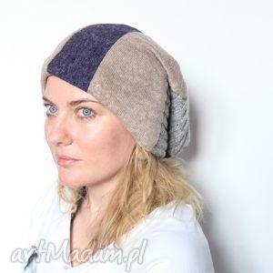 czapka damska męska unisex wełniana - wełna, czapka, ciepła, miła