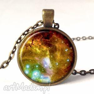 nebula - medalion z łańcuszkiem egginegg - kosmiczny, prezent