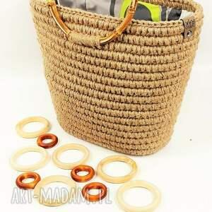 ręcznie wykonane torebka do ręki koszyk boho