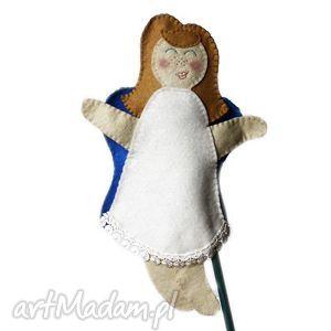 zabawki filcowa pacynka anielica janeczka - maskotka do kreatywnej zabawy