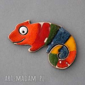 unikalny prezent, kameleon-magnes ceramiczny, kolekcjoner, kolor, pozytywny, energia