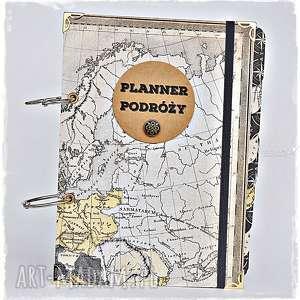 planner podróży vintage, planner-podrózy, planer, podróże, podróżnik, pamiętnik