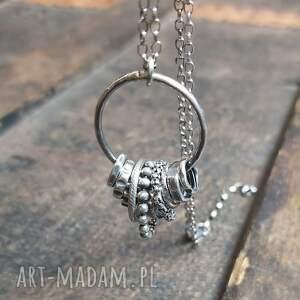 handmade naszyjniki naszyjnik srebrny
