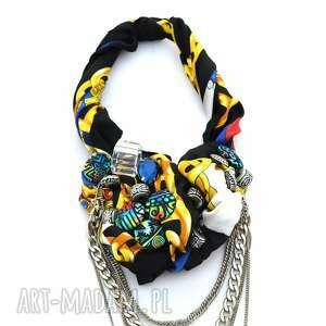 COLOR THERAPY naszyjnik handmade, naszyjnik, kolia, wisior, łańcuchy, kolorowy