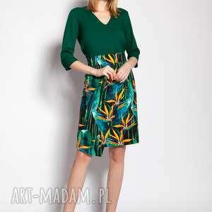 ręczne wykonanie spódnice dopasowana spódnica, sp127 bambus