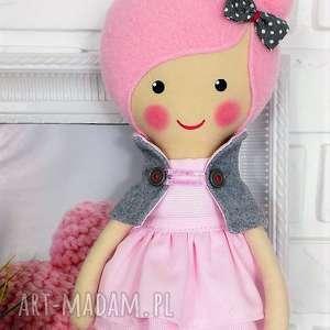 Prezent MALOWANA LALA AMELIA, lalka, zabawka, przytulanka, prezent, niespodzianka