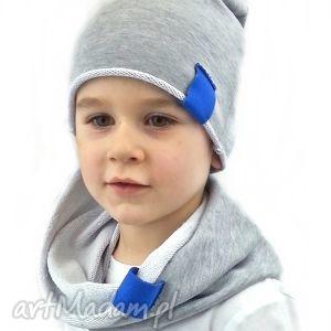komplet dla chłopca, czapka, czapki, szalik, komin, kominy, chłopiec