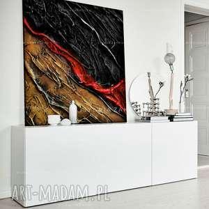 nowoczesny obraz do dużego wnętrza, abtrakcja, duży obraz, modne wnętrze
