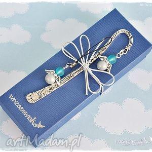 anioły - zestaw prezentowy - zakładka, książka, prezent, zestaw, komplet