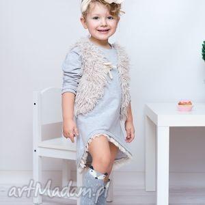 handmade ubranka sukienka dla dziewczynki 122-128