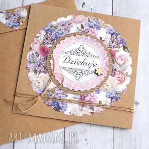 Dziękuję:: kartka handmade:: podziękowanie kartki kaktusia