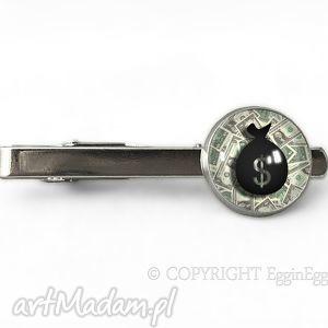Dolary - Spinka do krawata - ,dolary,spinka,krawata,sakiewka,pieniądze,prezent,