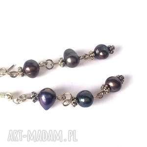 Prezent kolczyki damskie perly słodkowodne, kolczyki, mama, prezent, lekkie, wiosna