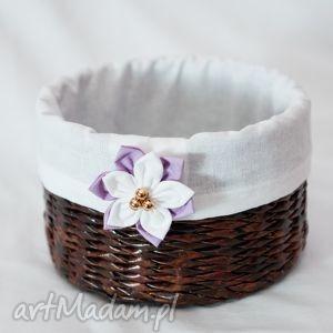 bukiet-pasji koszyk z kwiatuskiem - przechowywanie, prezent