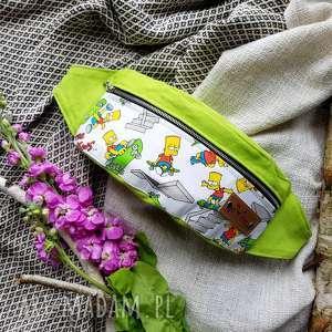 ręcznie wykonane nerki kolorowa nerka bart simpson