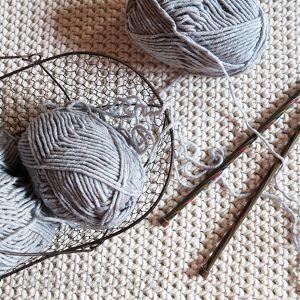 dywany dwustronny dywan z bawełnianego sznurka 140 x 200, rękodzieło, szydełku