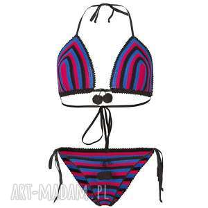 Kostium kąpielowy Madera szydełkowy, kostium, strój, bikini, kąpielowey, plażowy
