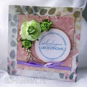 kartka okolicznościowa na urodziny - urodziny, prezent, scrapbooking, kartki
