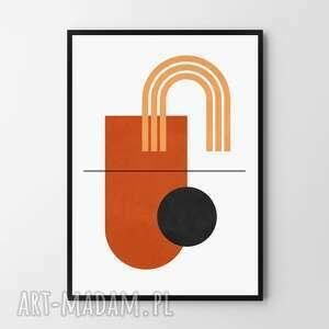 Plakat obraz boho geometria 50x70 cm b2 plakaty hogstudio