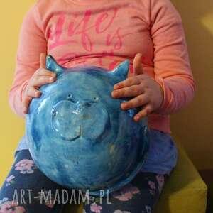 ogromna skarbonka ceramiczna - kot obw, 75 cm wspaniały prezent
