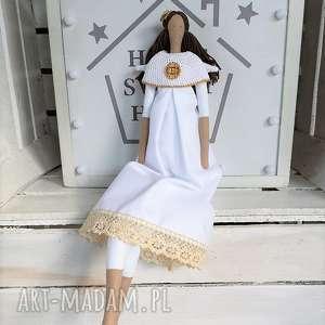 lalki anioł tilda pamiątka pierwszej komunii świętej, anioł, tilda