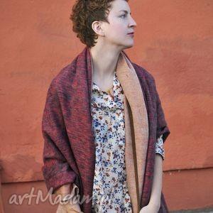 szal narzutka a la ponczo gyalmo tysiące kolorów - szal, chusta, ponczo