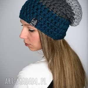 Triquence 21, czapa, czapka, długa, ciepła, zimowa, kolorowa