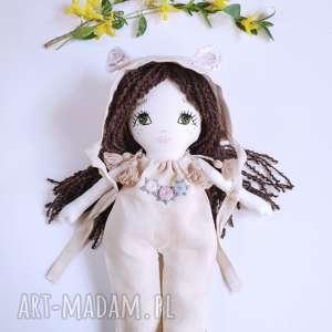 handmade lalki lalka ręcznie haftowana marysia