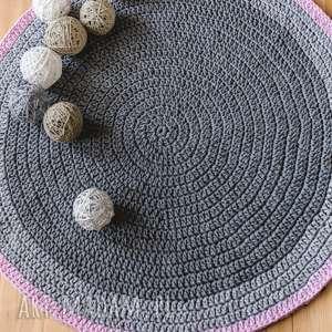 dywan 110 cm ze sznurka bawełnianego, dywan, sznurek, bawełniany