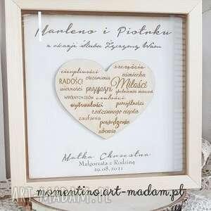 ślub życzenia ślubne prezent ślubny od matki chrzestnej