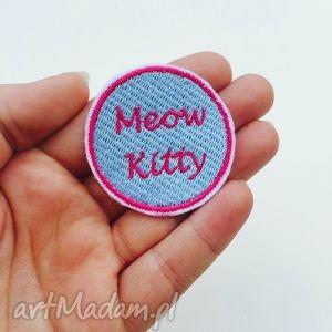 naszwyka meow kitty - ,naszywka,meow,kitty,cat,kot,pastelowa,