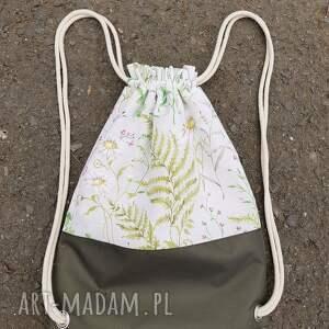 leśny plecak - handmade