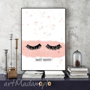 sweet dreams art print a4, plakat, obraz, wydruk, grafika, pod choinkę prezent
