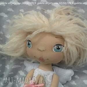 handmade dekoracje aniołek lalka - dekoracja tekstylna, ooak