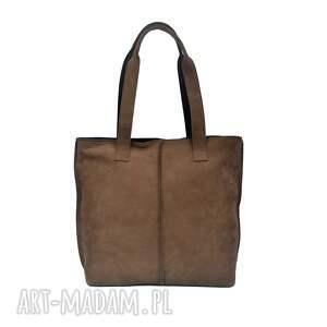 Prezent duża torba, worek z nubuku 2605, torebka, prezent, wygodna,