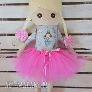 szmacianka, szmaciana lalka w tutu, szyta, szmaciana, lalka, baletnica